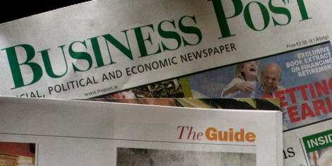 The Sunday Business Post. Picture used under Flickr/Creative Commons licence, credit: -Gene-. All rights reserved.