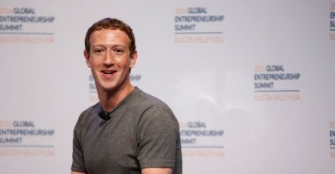 Mark Zuckerberg facebook news timeline